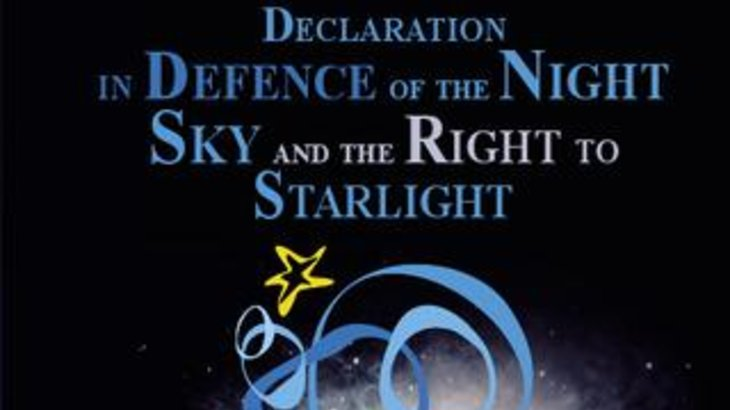 X ANNIVERSARY STARLIGHT DECLARATION PRESERVING THE SKIES